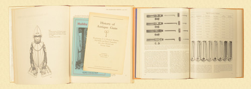 BOOKS JAPANESE ARMS AND ARMOR LOT OF 2 BOOKS - C30855