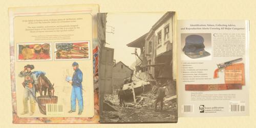 BOOKS CIVIL WAR COLLECTIBLES LOT OF 3 BOOKS - C30859