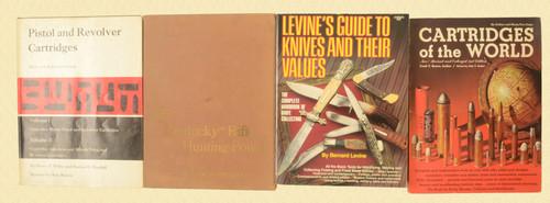 BOOKS KENTUCKY RIFLE POUCHES LOT OF 4 BOOKS - C30860