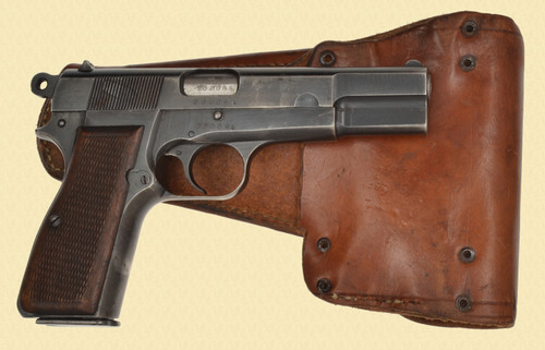 FN BROWNING HI POWER NAZI MARKED - C30897