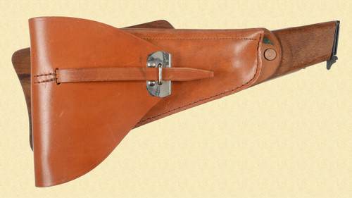 BROWNING HI POWER STOCK/HOLSTER - C18642