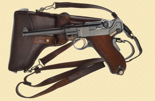 DWM LUGER SWISS MILITARY 1900 - Z37815