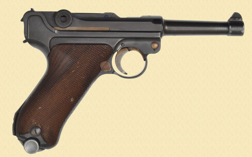 MAUSER LUGER 1940 BANNER SWEDISH COMM. CONTRACT - Z38751