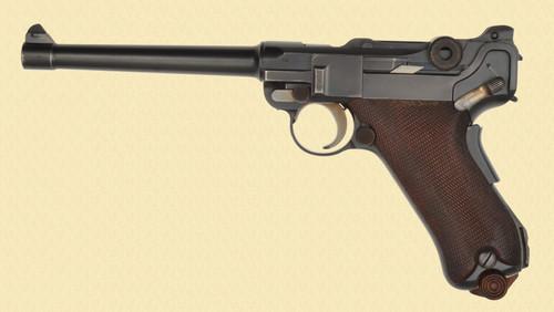 DWM 1906 COMMERCIAL NAVY LUGER - D15709