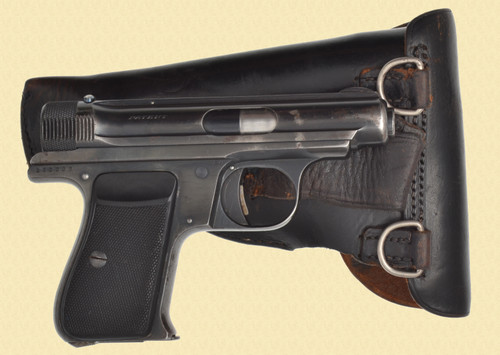 SAUER 1930 BEHORDEN COMMERCIAL W/HOLSTER - D32043