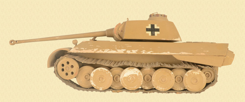GERMAN PANTHER TANK MODEL - C31029
