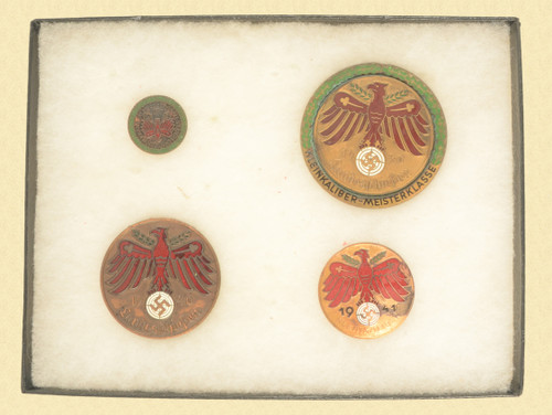 GERMAN NAZI WWII SHOOTING MEDALS - C31036