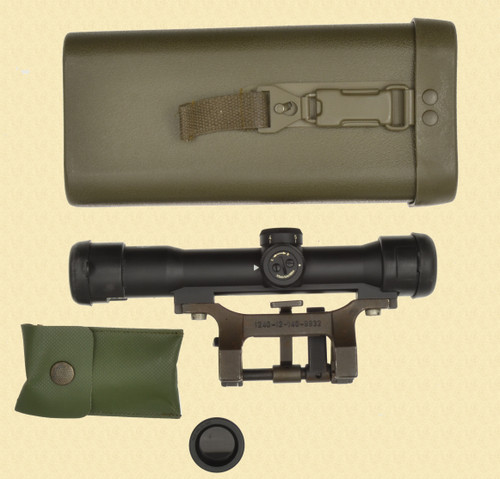 HENSOLDT WETZLAR Z-24 SCOPE WITH MOUNTS AND CASE - C31063