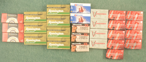 AMMUNITION 222 REMINTON MIXED MFR - C31085