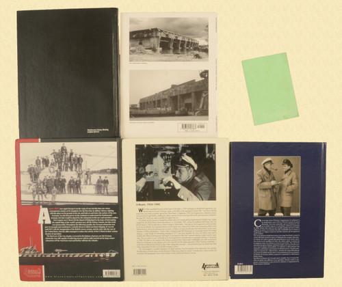 BOOKS WW2 GERMAN SUBMARINES LOT OF 7 - C31121