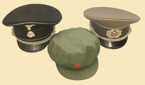 MILITARY HATS LOT OF 3 - C31130