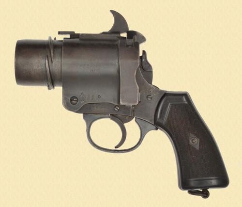 BRITISH  W.A. RIGGS FLARE GUN - C31382
