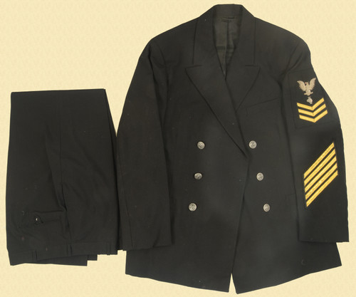 U.S. NAVY TUNIC AND TROUSERS - C31154