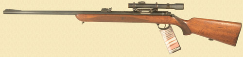 WALTHER SPORTMODELL TARGET RIFLE - D2819