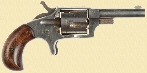 HOPKINS & ALLEN RANGER NO.2 REVOLVER - Z28139