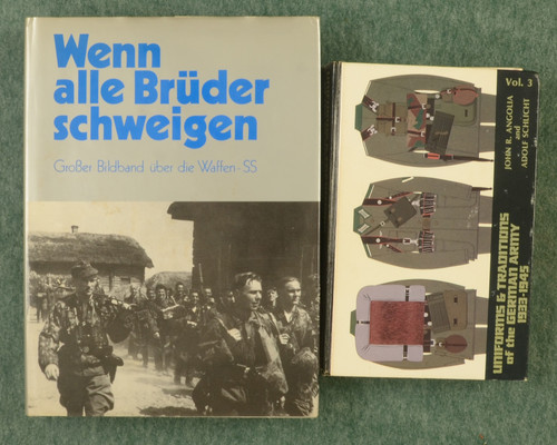 BOOKS WW II GERMAN MILITARY - C31208