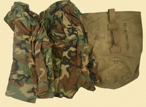 USGI LOT OF 6 FIELD JACKETS - M8180