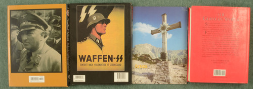 BOOKS WWII MILITARY BOOKS LOT OF 4 - C31472
