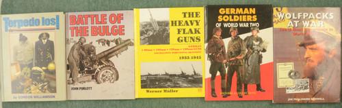 BOOKS WW II GERMAN MILITARY - C31218