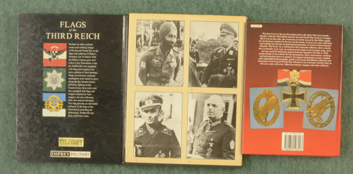 BOOKS WWII MILITARY BOOKS LOT OF 3 - C31470