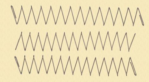 H & K MAGAZINE SPRINGS  (3) - C31558