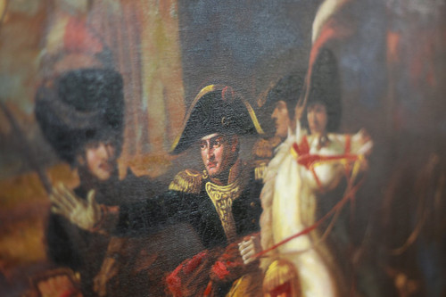 ENTRY OF BONAPARTE INTO ALEXANDRIA OIL PAINTING - C19441