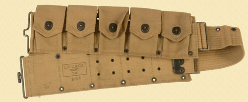 USGI WW I AMMO BELT - C31290