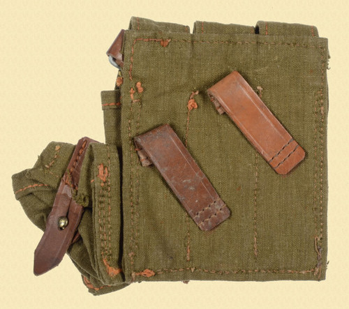 GERMAN WW2 MP28 SMG MAGAZINE POUCH - C23900