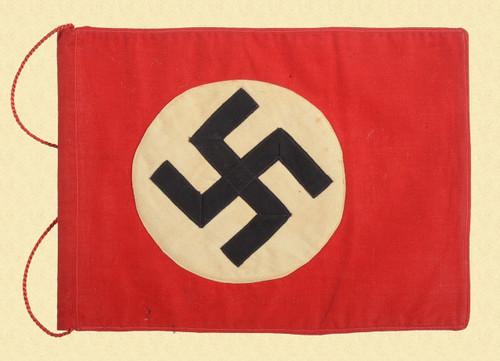GERMAN WW2 PARTY LEADER VEHICLE PENNANT - C26440