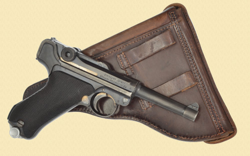 MAUSER Luger Turkish Security Police - D32131