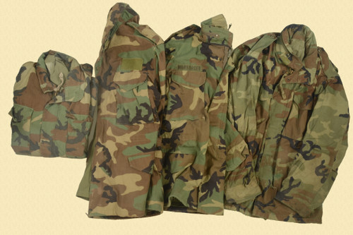 USGI LOT OF 6 FIELD JACKETS - M8168