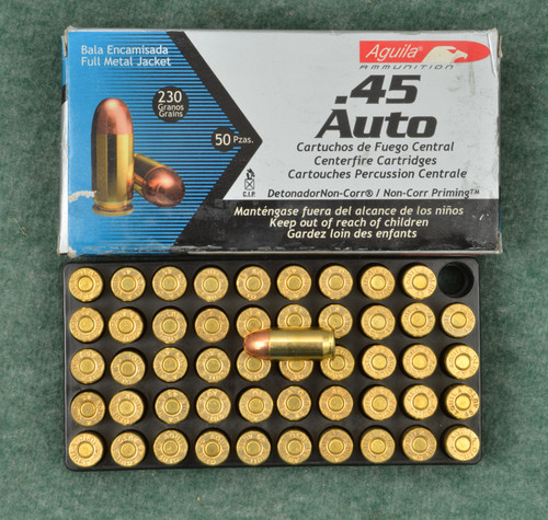 AGUILA .45 AUTO  AMMUNATION LOT OF TWO - C32274