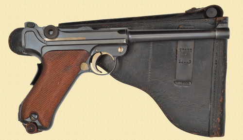 DWM 1906 COMMERCIAL NAVY LUGER W/HOLSTER - C32344