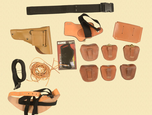 HOLSTERS HOLSTERS & POUCHES LOT OF 12 - C32581