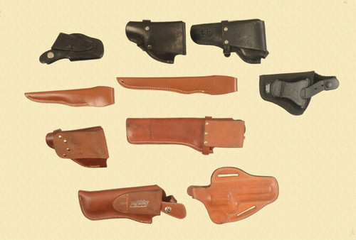 HOLSTERS HOLSTERS LOT OF 10 MISC - C32576