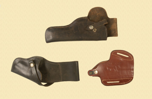 HOLSTERS LOT OF 3 - M8343
