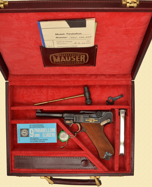 MAUSER 75 YEAR MODEL 1908 COMMEMORATIVE - D16115