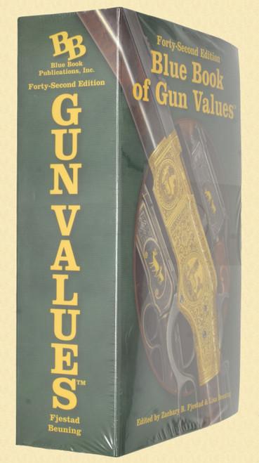 BOOK BLUE BOOK of GUN VALUES 42ND EDITION - K1837
