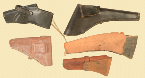 HOLSTERS Lot of 5 - M8337