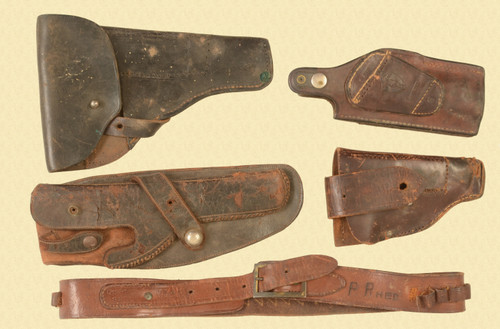 HOLSTER LOT OF 5 - M8345