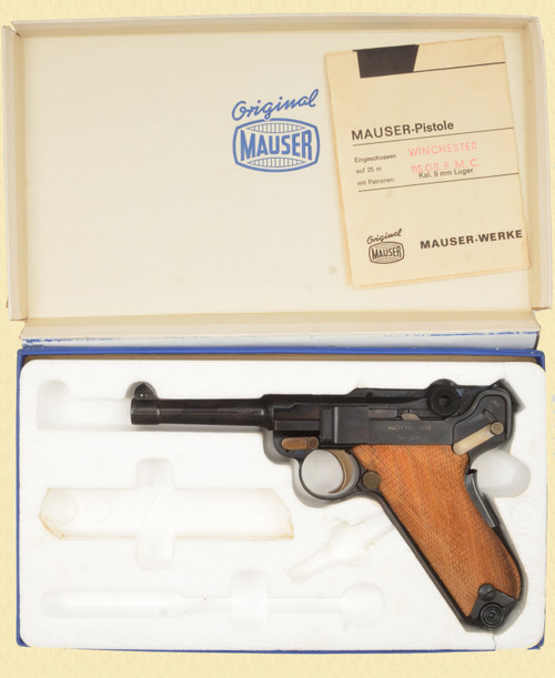 "MAUSER INTERARMS AMERICAN EAGLE 4"" 9MM - D16314"