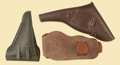 HOLSTERS LOT OF 3 - C32898