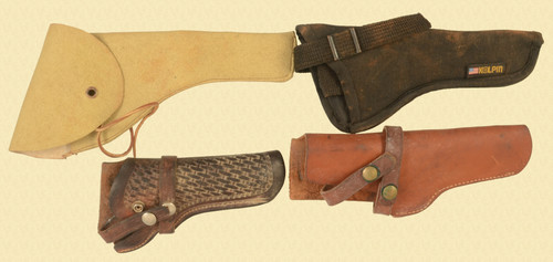 HOLSTER LOT OF 4 - M8347