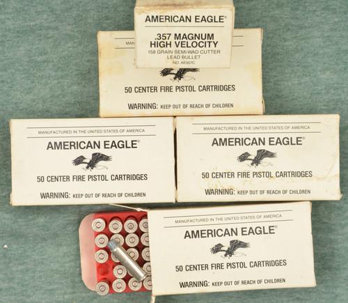 AMERICAN EAGLE .357 MAG  SEMI WAD CUTTER - C32710