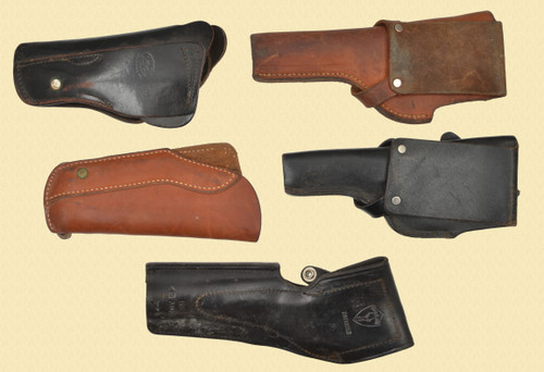 HOLSTERS Lot of 5 - M8338