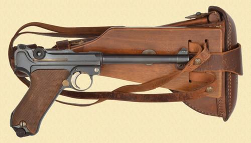 DWM 1917 NAVY LUGER RIG - D32207