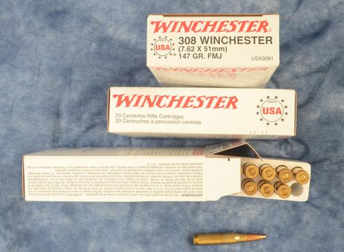 AMMUNITION 308 WINCHESTER - C33065