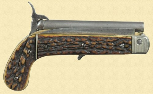 FRENCH PINFIRE KNIFE PISTOL - C7805