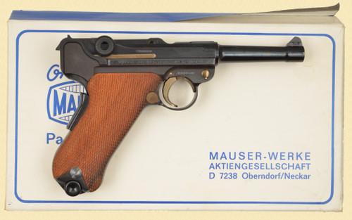 MAUSER LUGER RENATO GAMBA LNIB - D16316