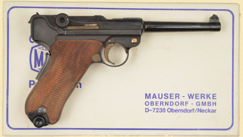 MAUSER 1906 BULGARIAN COMMERATIVE LUGER - D32234